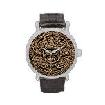 Reloj azteca del calendario