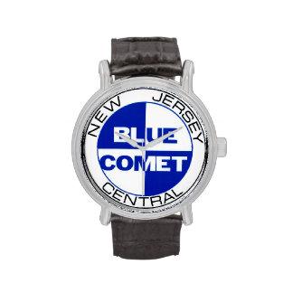 Reloj azul 01 del cometa