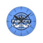 Reloj azul de Park City