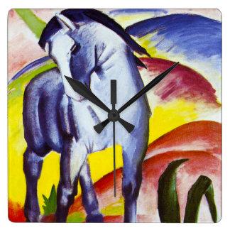 Reloj azul del caballo de Franz Marc