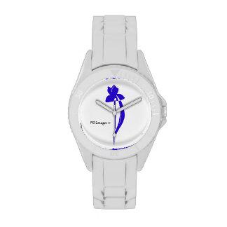 Reloj azul del iris de PRLimages