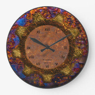 Reloj azul y pelirrojo de Streampunk