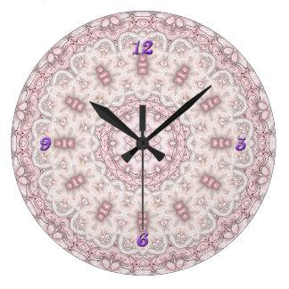 Reloj barroco de la mandala de Sakura
