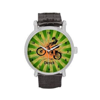Reloj Biking del diseño de la suciedad adaptable