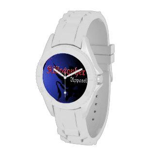 Reloj blanco de la ropa de Killosopher de la