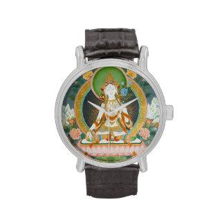Reloj blanco de Tara