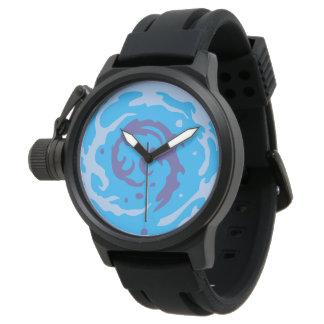 Reloj Blue Water 2 effect