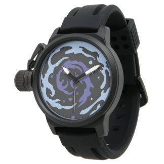 Reloj Blue Water effect
