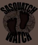 Reloj Brown American Apparel de Sasquatch Camiseta