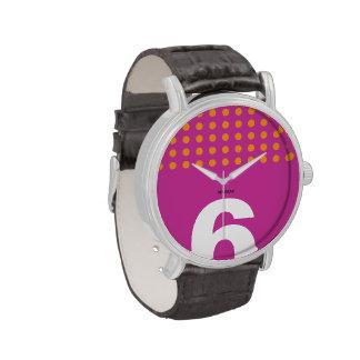 Reloj Caballero 6 Oranges Dots