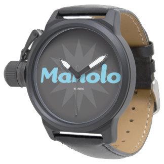 Reloj Caballero Black Personal / Manolo
