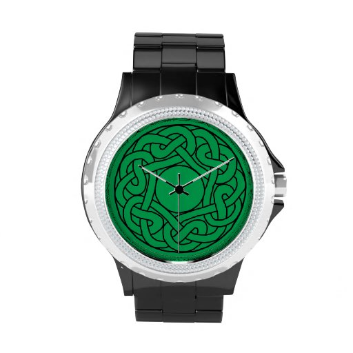 Reloj céltico 3 de la mandala del nudo