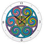 Reloj céltico del arte