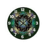 Reloj céltico del diseño