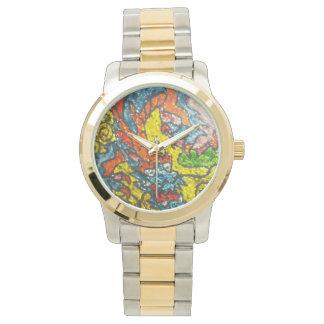 reloj chino del dragón