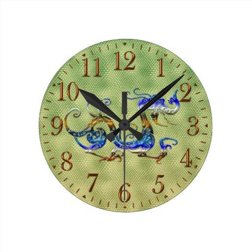 Reloj chino del regalo del diseñador del arte de l