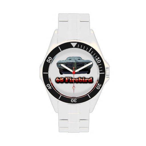 Reloj clásico del acero inoxidable de 68 Firebird