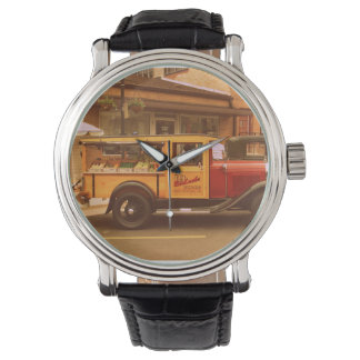 Reloj clásico del camión de la comida