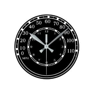 Reloj clásico del velocímetro del coche