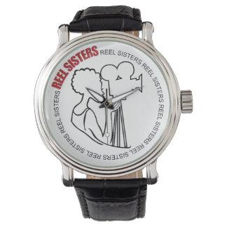 Reloj cobrable de las hermanas del carrete