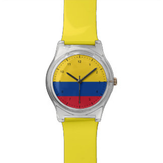 Reloj colombiano de la bandera