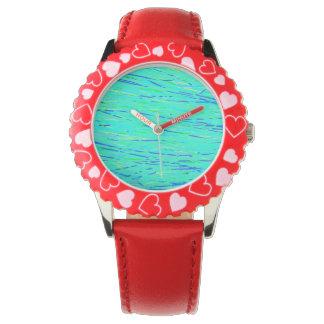 reloj coloreado