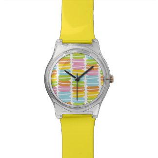 Reloj colorido de Franch Macarons