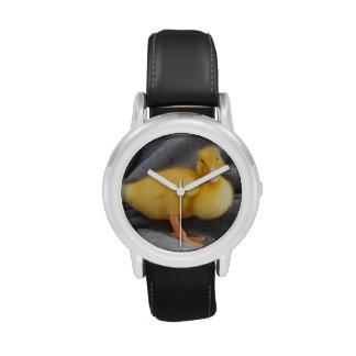 Reloj con la imagen del pato del bebé