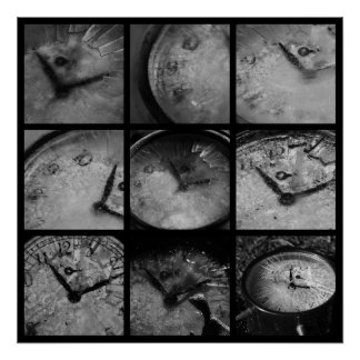 Reloj congelado impresiones