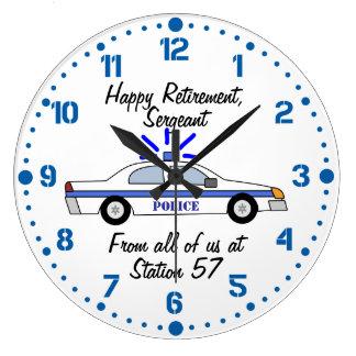 Reloj conocido de encargo del regalo del retiro