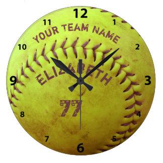 Reloj conocido sucio de la bola del número del