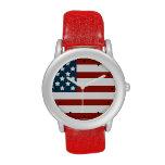 Reloj contemporáneo del patriota americano