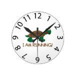 Reloj corriente de la tortuga