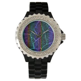 reloj crackled del arco iris
