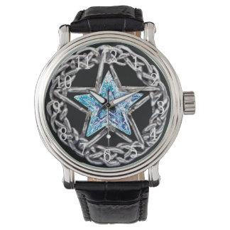 Reloj cristalino de la estrella