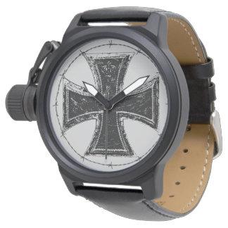 Reloj cruzado del eWatch del hierro
