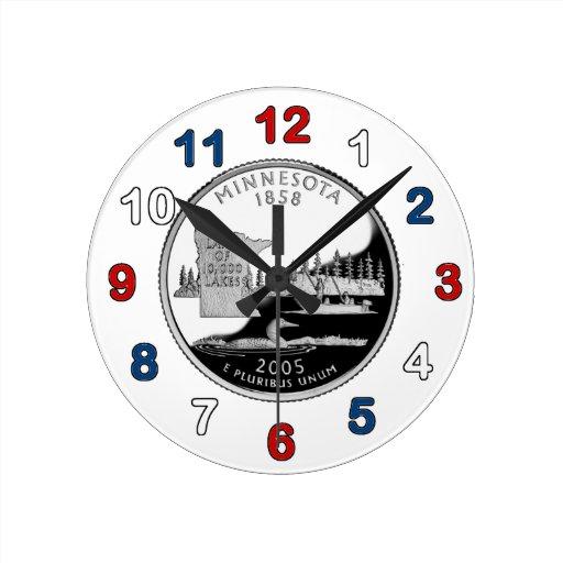 Reloj cuarto de Minnesota