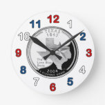 Reloj cuarto de Tejas