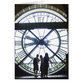 Reloj d Orsay de Museé Tarjeton