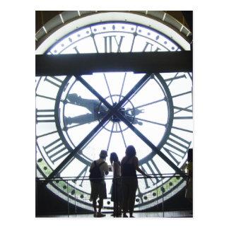 Reloj d Orsay de Museé Tarjetas Postales