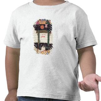 Reloj de agua con las figuras automatizadas camiseta