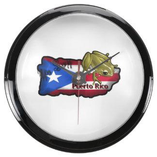 Reloj De Agua Relojes Acuario