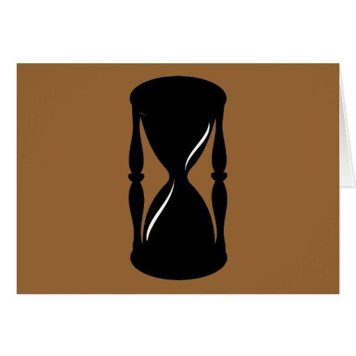 Reloj de arena - arenas del tiempo felicitacion