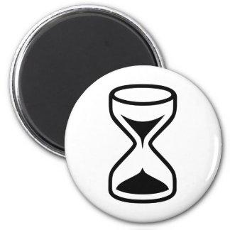 Reloj de arena imán redondo 5 cm