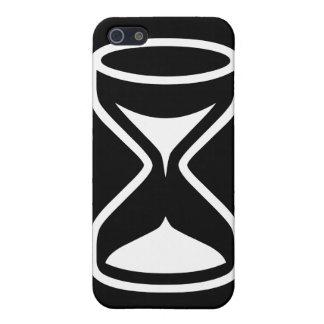 Reloj de arena iPhone 5 carcasa