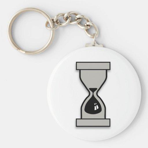 Reloj de arena llaveros personalizados