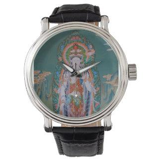 Reloj de Avalokiteshvara del japonés