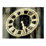 Reloj de ayuntamiento. Cardiff, País de Gales, Rei Postal