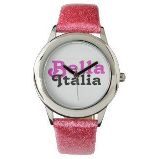 Reloj de Bella Italia por el personalizado de