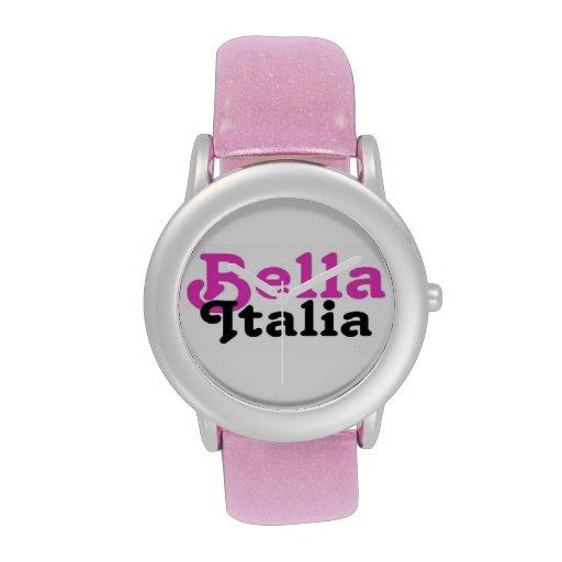 Reloj de Bella Italia por el personalizado de Full